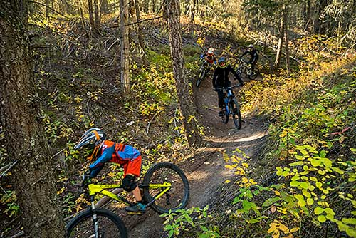 Mountain Biking in the Cariboo